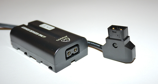N2 Dummy D Tap Battery Atomos